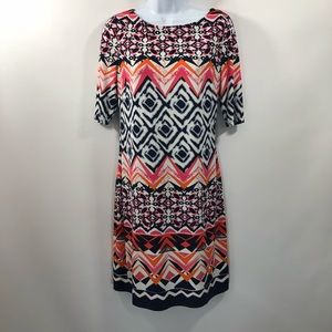 Vince Camuto Print Dress